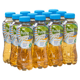 FUZE TEA GREEN BLUEB. JASMINE PET 0,4L