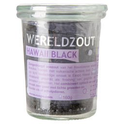 BLACK SALT HAWAI COARSE
