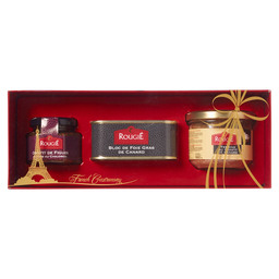 GIFT BOX ROUGIE FOIE CANARD/FIGUE CONFIT