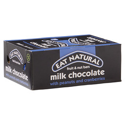 EAT NATURAL BAR 45GR  PEANUTS/CRANB./PIS