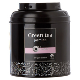 LOOSE TEA TIN GREEN TEA JASMINE ORGANIC