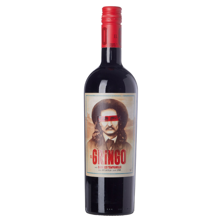 EL GRINGO DARK RED TEMPRANILLO (WOODEN C