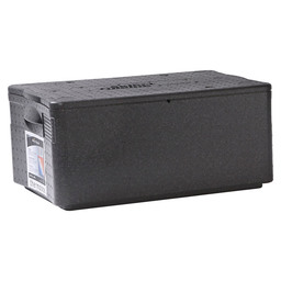 THERMOBOX GN 1/1 40L  ZWART POLYPROPYLEE