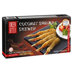 COCONUT SHRIMP  SKEWERS 20 GR