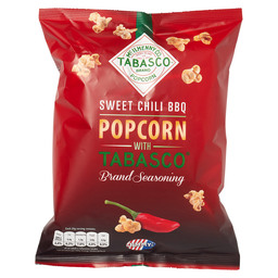 POPCORN TABASCO SWEET CHILI BBQ
