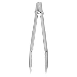 SERVING TONGS 229MM WITH SPRING-SS