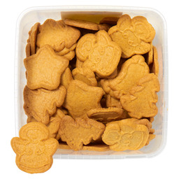 CHRISTMAS COOKIES +/- 80 PIECES