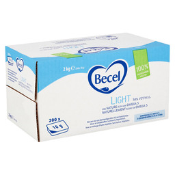 BECEL LIGHT HALVARINE 38% CUPS 10GR