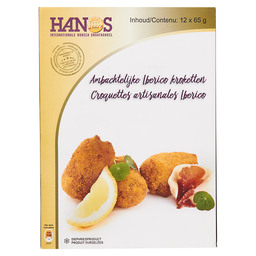IBERICO CROQUETTES 12X65GR