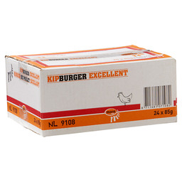 CHICKEN BURGER EXC. 85 GR