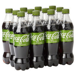 COCA-COLA LIFE PET 50CL