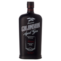 DICTATOR COLOMBIAN AGED GIN BLACK
