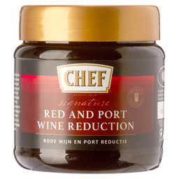 CHEF RED + PORTWINE REDUCTION 6X450G