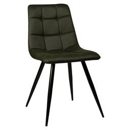 LAUREN CHAIR - ARMY - MICROFIBRE