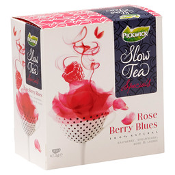 THEE ROSE BERRY BLUES PICKWICK SLOW TEA