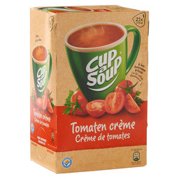 TOMATO SOUP CREAM CUP A SOUP CATERING