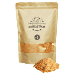 SMOKE SAWDUST ALMOND 1,5L GRANULE 0-1MM