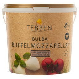 MOZZARELLA BUFFALO BULBA 10X125GR