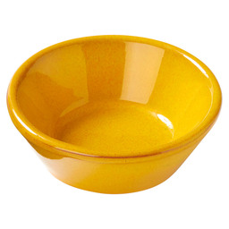 BOWL CONICAL  Ø8 X 4 CM MUSTARD