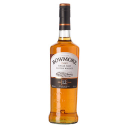 BOWMORE 12Y ISLAY SINGLE MALT