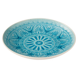 DINERBORD VERSAILLES 26,5X4CM TURQUOISE