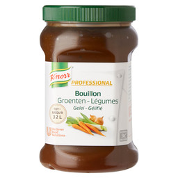 VEGETABLE BOUILLON PROF.KNORR 32L