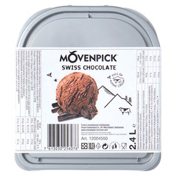ICE CREAM CHOCOLATE SWISS MOVENPICK