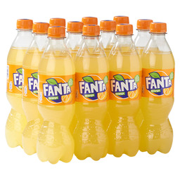 FANTA ORANGE 50CL PET FLES