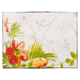 PLACEMAT PAPIER 30X40CM SUMMERTIME RED