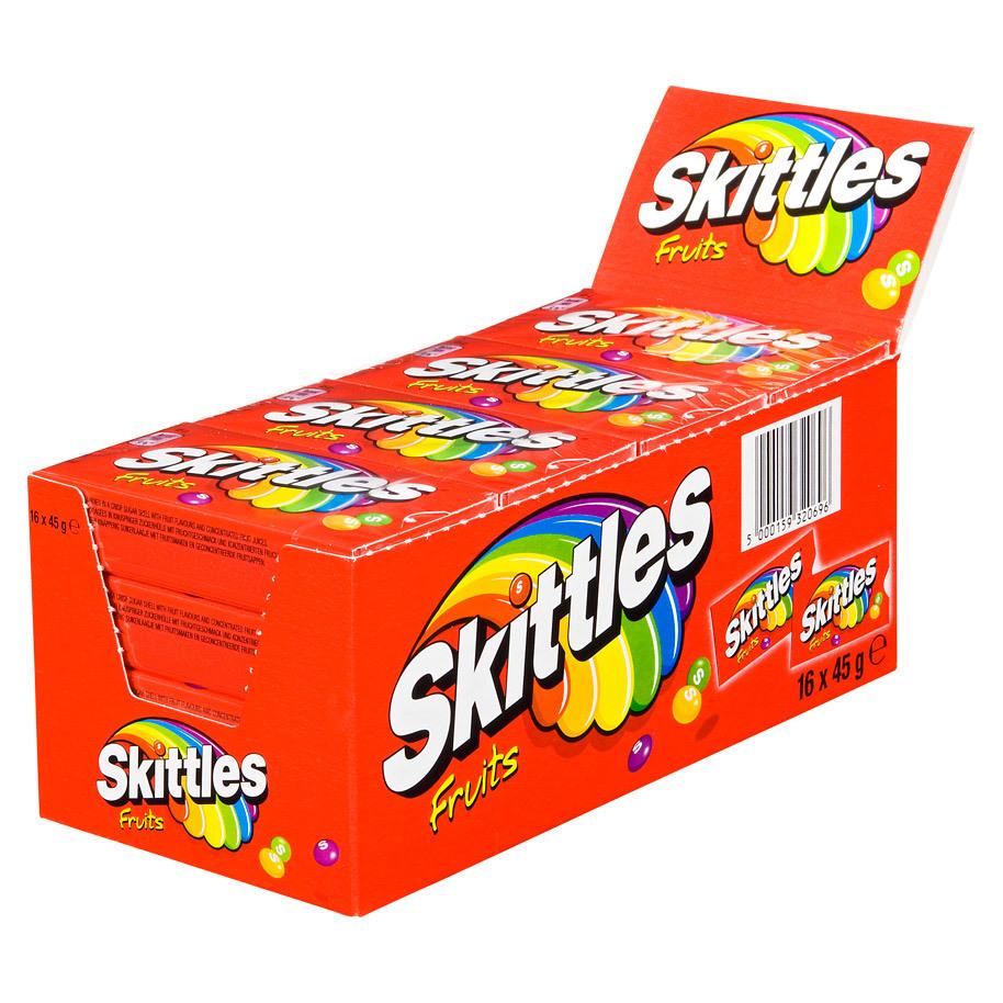 SKITTLES FRUIT 45GR