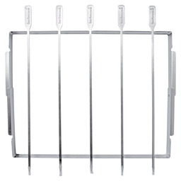 BARBECOOK STAINLESS STEEL BROCHETTE HOLD