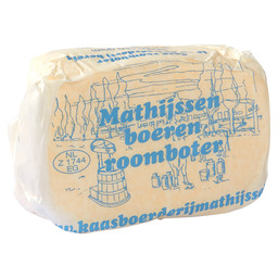 BOEREN ROOMBOTER  RAUWMELKSE BOTER