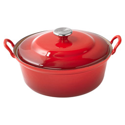 FRYING PAN 28 CM FAITOUT CHERRY RED