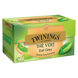 TEA EARL GREY TWININGS GREEN TEA