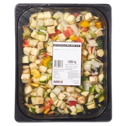 RATATOUILLE MIX 20MM  (ZONDER WORTEL)