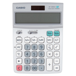 BUREAUREKENMACHINE DF-120ECO CASIO