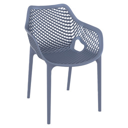 AIR-A ARMCHAIR - DARK GREY