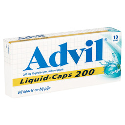 ADVIL LIQUID CAPS 200MG