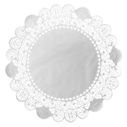 TAARTRAND ROND 26,7CM WIT