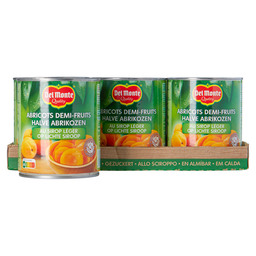 APRICOTS 850 ML IN SYRUP DEL MONTE
