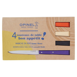 BOX OF 4 TABLE KNIVES N°125 POP