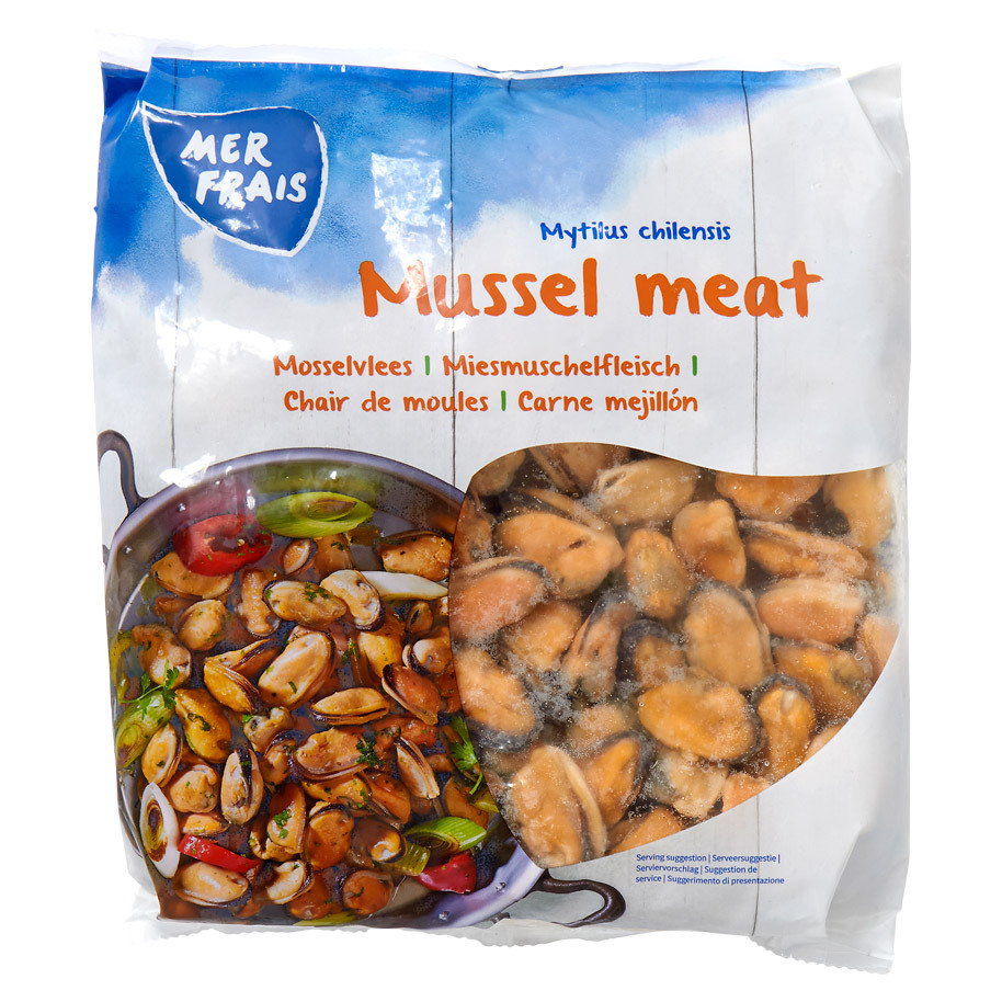 MUSSEL MEAT COOKED 100/200 FRZ