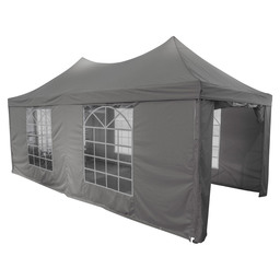 TEMPO PARTYTENT DICHT 3X6M ROYAL GREY /