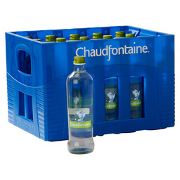 CHAUDFONTAINE 0,5L  LIGHT SPARKLING GLAS