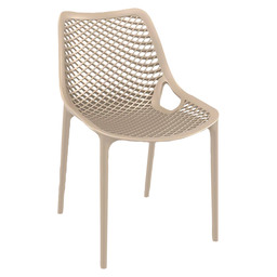 AIR CHAIR PVC TAUPE