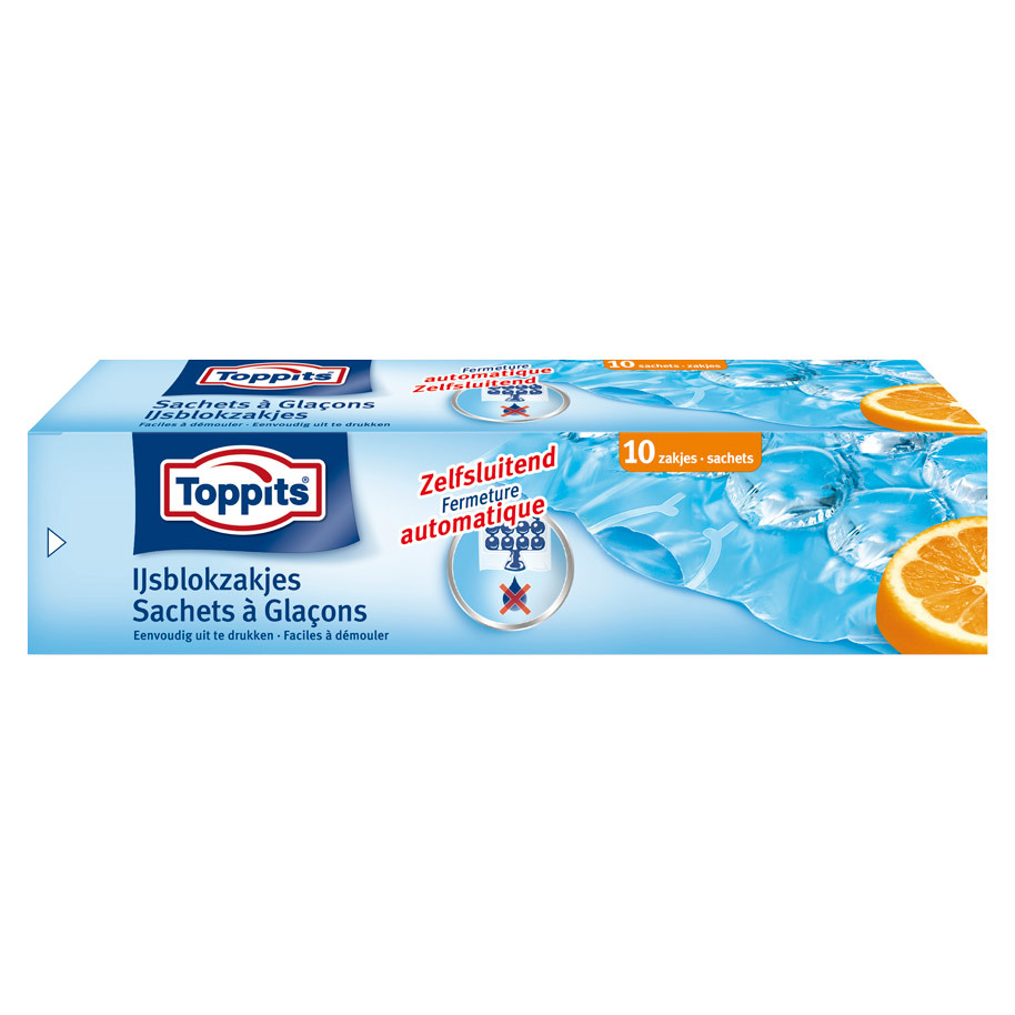 TOPPITS ICE CUBE BAGS