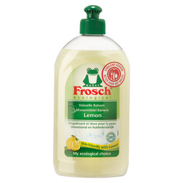FROSCH AFWASMIDDEL LEMON 500ML