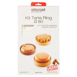 SILICONE MAL KIT TARTE RING 80MM