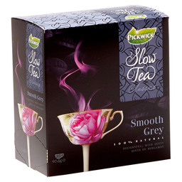 THEE SMOOTH GREY  PICKWICK SLOW TEA