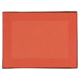 PLACEMAT DUNICEL LINNEA 30X40CM ORANGE